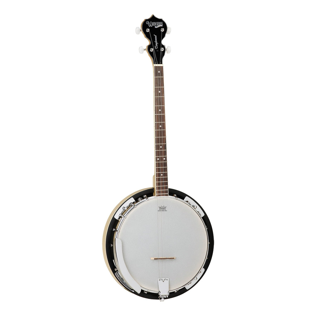 TWB18-M4-Tanglewood 'Union' 4-String Maple Tenor Banjo (Natural Gloss)-Living Music
