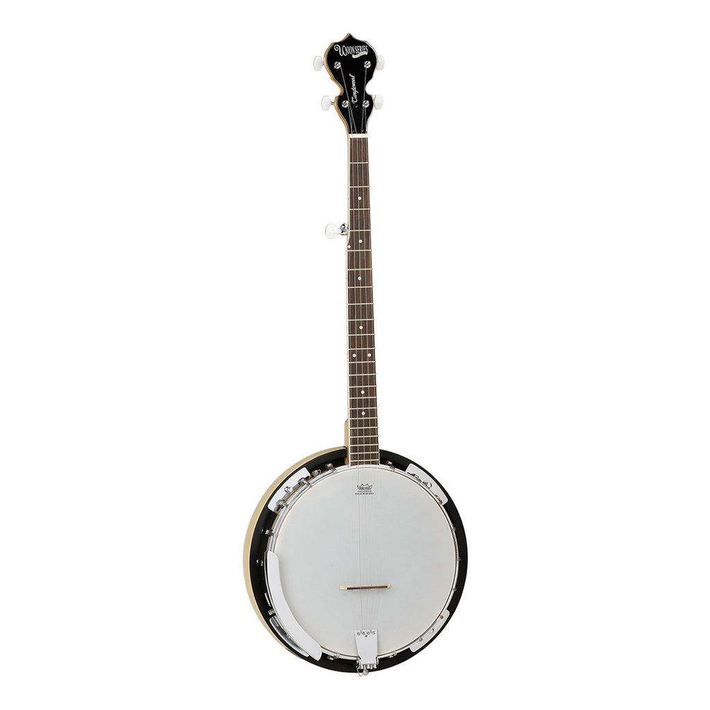 TWB18-M5-Tanglewood Union 5-String Maple Banjo (Natural Gloss)-Living Music