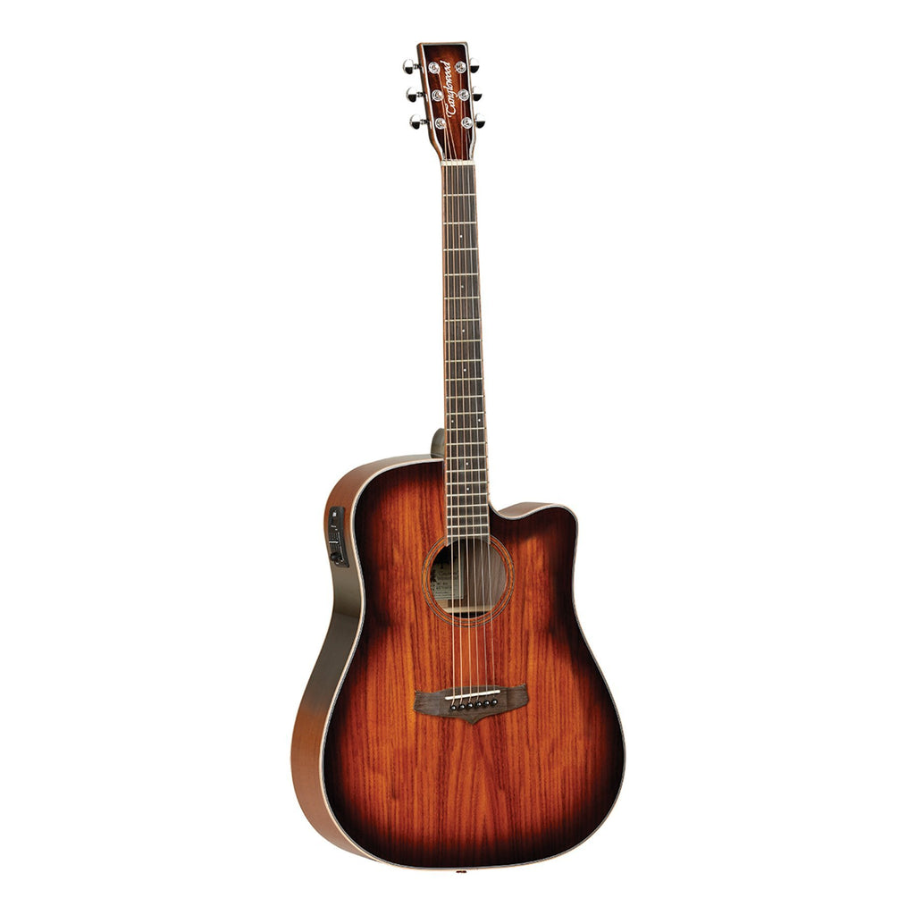 TW5KOA-Tanglewood Winterleaf Solid Spruce Top Acoustic-Electric Dreadnought Guitar (Natural Gloss)-Living Music