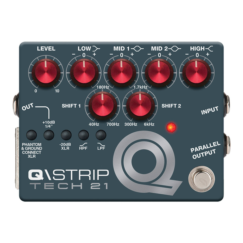 QSTR-Tech 21 QStrip Dual DI Pedal-Living Music