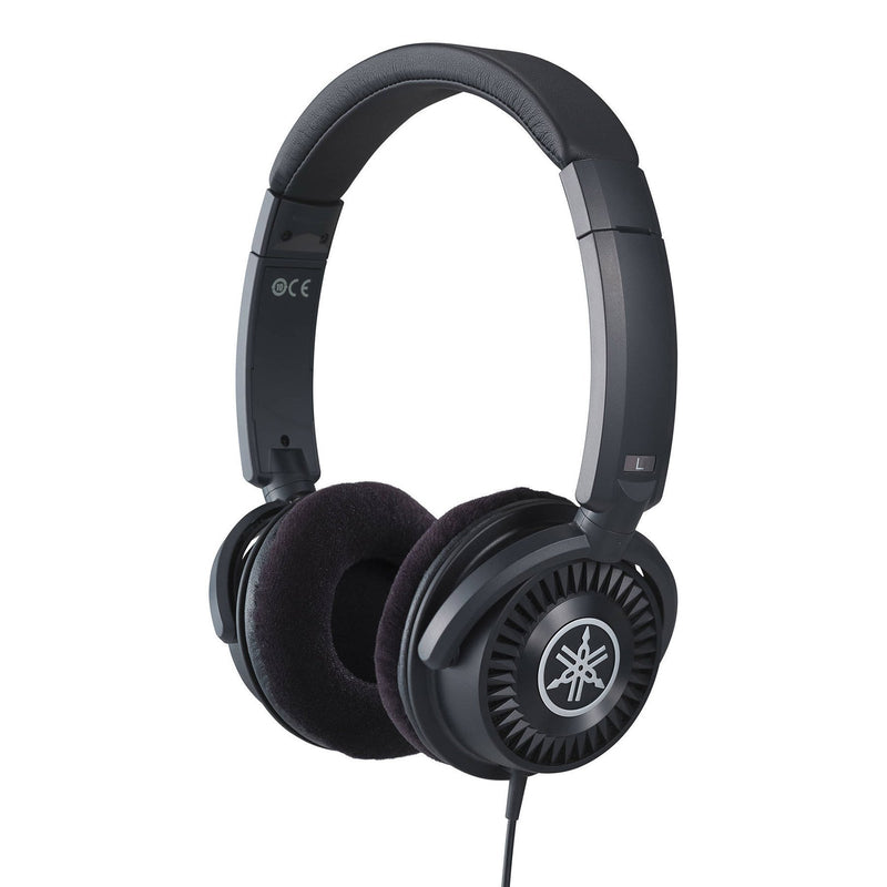HPH150B-Yamaha HPH-150 Neutral Open Back Studio Headphones (Black)-Living Music