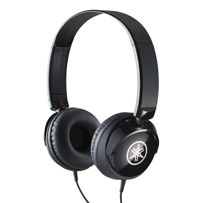HPH50B-Yamaha HPH-50 Compact Closed Back Studio Headphones (Black)-Living Music