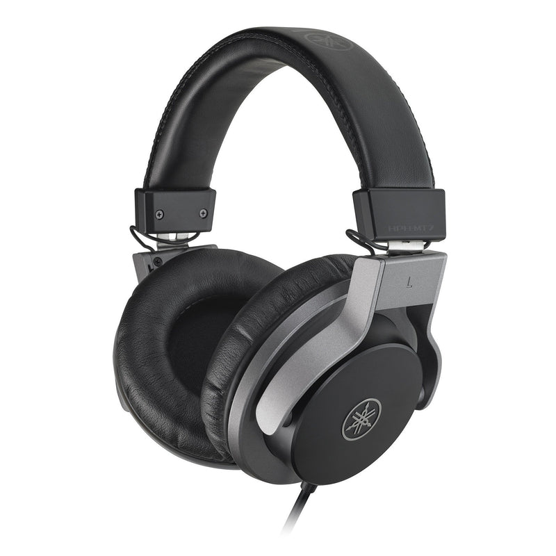 HPH-MT7-Yamaha HPH-MT7 Closed Back Studio Monitor Mixing Headphones (Black)-Living Music