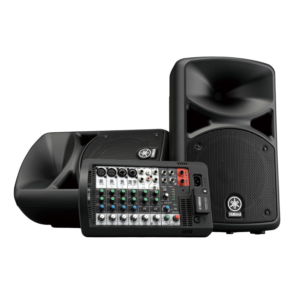 STAGEPAS400BT-Yamaha STAGEPAS 400BT 400 Watt Portable PA System with Bluetooth-Living Music