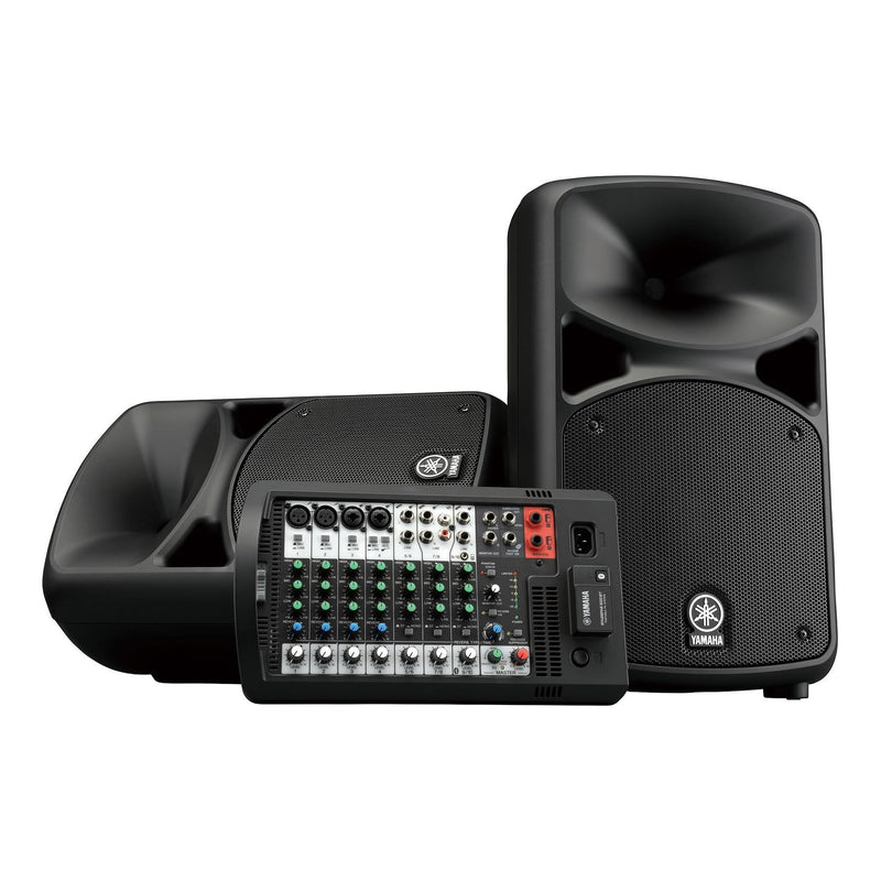 STAGEPAS600BT-Yamaha STAGEPAS 600BT 680 Watt Portable PA System with Bluetooth-Living Music