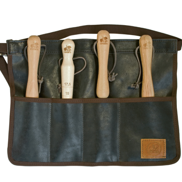 Classic Leather Tool Roll Apron