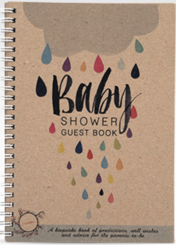 RHI Baby Shower Guest Book A5