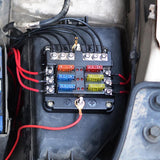 Fuse Holder Box with Negative Bus