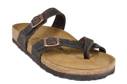 BIRKENSTOCK - MAYARI - REGULAR - OILED LEATHER