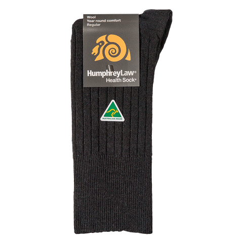 HUMPHREY LAW - 46C - WOOL MENS HEALTH SOCK
