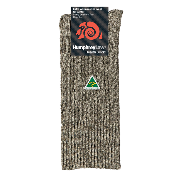 HUMPHREY LAW - 49C - FINE MERINO WOOL MENS HEALTH SOCK