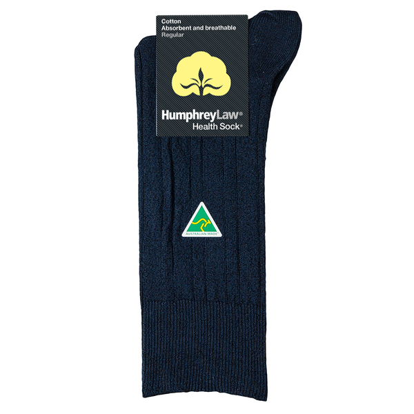 HUMPHREY LAW - 59C - MERCERISED COTTON MENS HEALTH SOCK
