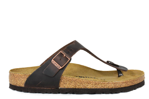 BIRKENSTOCK - GIZEH - REGULAR - OILED LEATHER