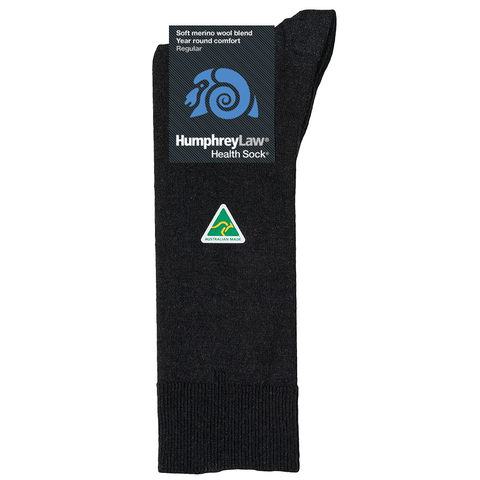 HUMPHREY LAW - 86C - FINE MERINO WOOL MENS HEALTH SOCK