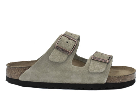 BIRKENSTOCK - ARIZONA - NARROW - SUEDE - SOFT FOOTBED