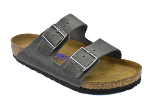 BIRKENSTOCK - ARIZONA - REGULAR - OILED LEATHER - SOFT FOOTBED