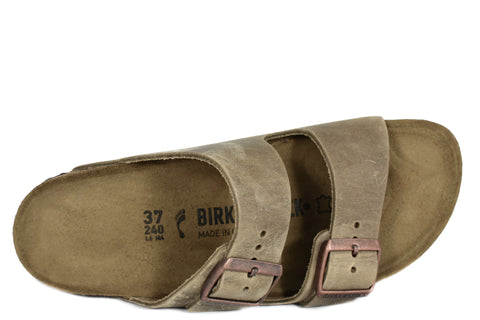 BIRKENSTOCK - ARIZONA - NARROW - OILED LEATHER