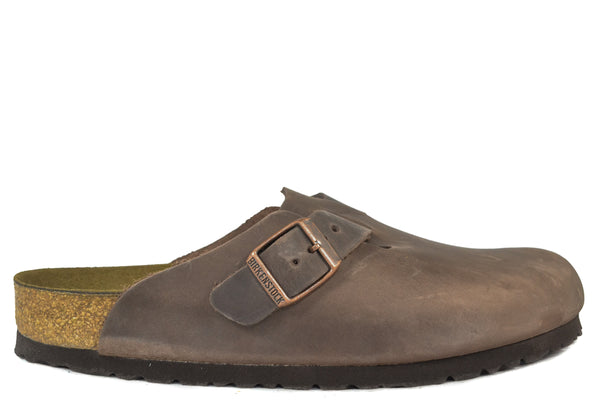 c6ae6602c8bfb6 BIRKENSTOCK - BOSTON - REGULAR - OILED LEATHER – Grundy s Shoes