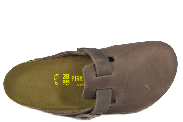 d421b303a694d5 BIRKENSTOCK - BOSTON - REGULAR - OILED LEATHER – Grundy s Shoes