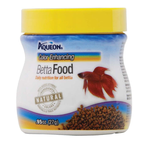 Aqueon Color Enhancing Betta Food - Bay Bridge Aquarium and Pet