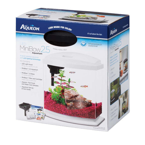 Aqueon Mini Bow 2.5 Aquarium Kit - Bay Bridge Aquarium and Pet