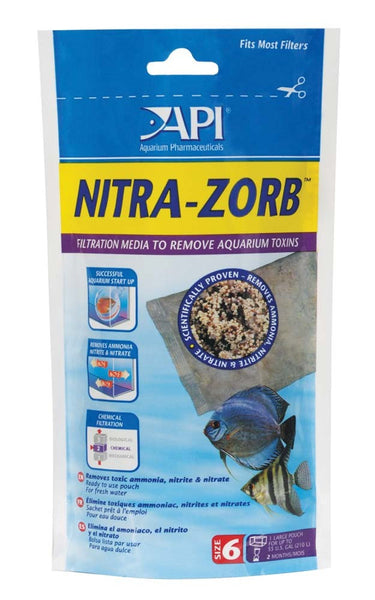API Nitra-Zorb Pouch - Bay Bridge Aquarium and Pet