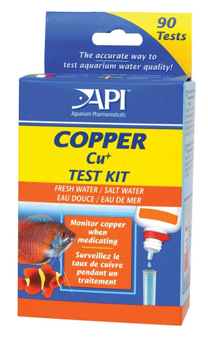 API Copper Test Kit - Bay Bridge Aquarium and Pet