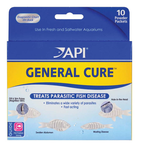 API General Cure Powder - Bay Bridge Aquarium and Pet