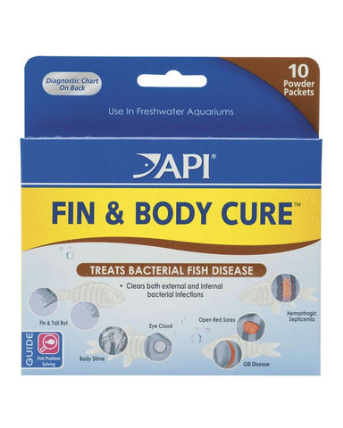 API Fin & Body Cure Powder - Bay Bridge Aquarium and Pet