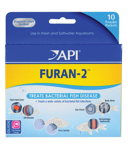 API Furan-2 Powder - Bay Bridge Aquarium and Pet
