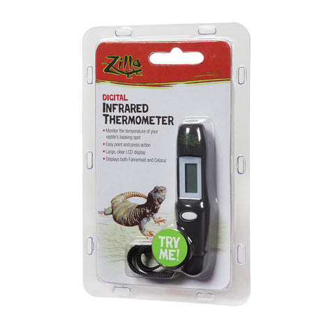 Zilla Digital Infrared Thermometer - Bay Bridge Aquarium and Pet