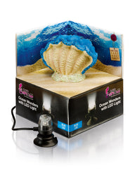 H2Show Ocean Wonders Clam & Blue LED Light - Bay Bridge Aquarium and Pet