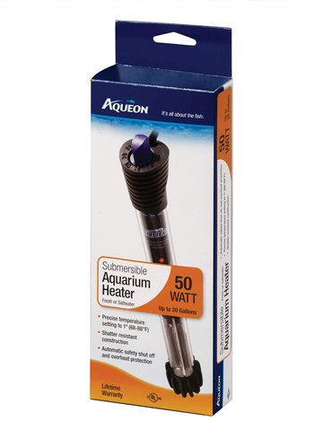 Aqueon Submersible Heater - Bay Bridge Aquarium and Pet