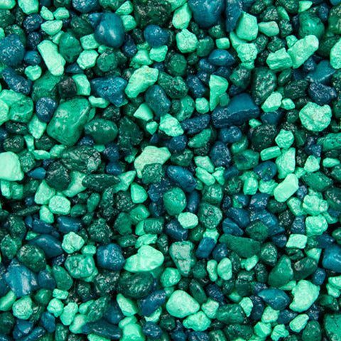 Estes Spectrastone Aquarium Gravel - Lake Green