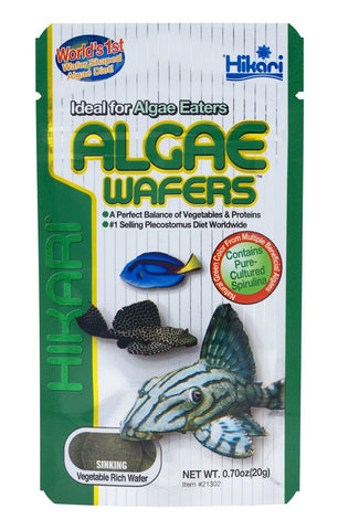 Hikari Algae Wafers - Bay Bridge Aquarium and Pet