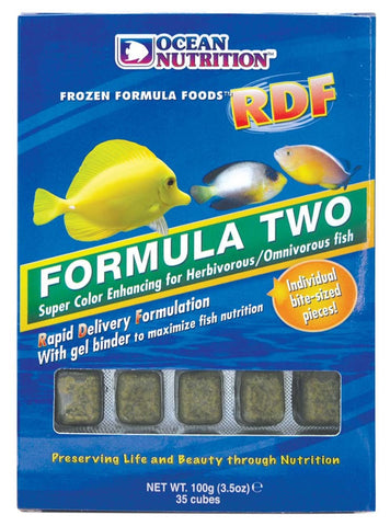 Ocean Nutrition Frozen RDF Formula Two Cubes