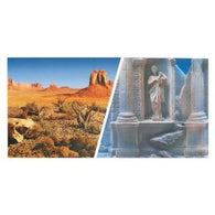 3-D Greek Ruins/Ariz Desert 12