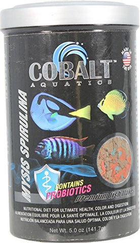 Cobalt Mysis Spirulina Flakes - Bay Bridge Aquarium and Pet