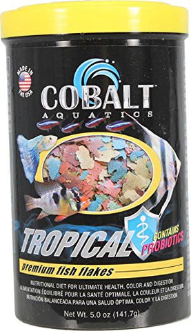 Cobalt Tropical Flakes - Bay Bridge Aquarium and Pet