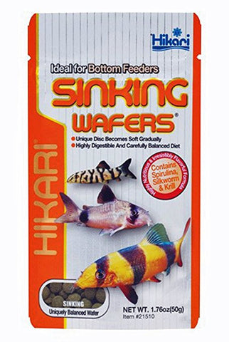 Hikari Bottom Feeder Sinking Wafers - Bay Bridge Aquarium and Pet