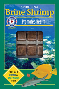San Francisco Bay Brand Frozen Spirulina Brine Shrimp