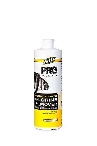 Fritz Pro Aquatics Concentrated Chlorine Remover - Bay Bridge Aquarium and Pet