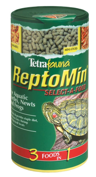 Tetra ReptoMin Select-A-Food