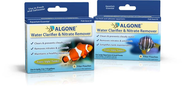 ALGONE Water Clarifier and Nitrate Remover - Bay Bridge Aquarium and Pet