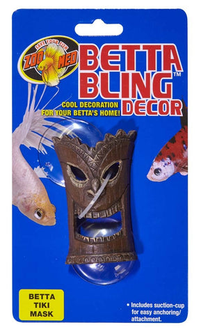 Zoo Med Betta Bling Tiki Mask