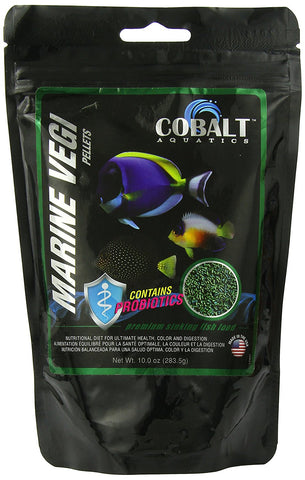 Cobalt Marine Vegi Pellets - Bay Bridge Aquarium and Pet