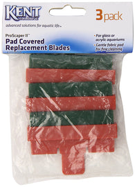 Kent Marine ProScraper II Pad Covered Replacement Blades - Bay Bridge Aquarium and Pet