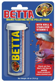 Zoo Med Betta Micro Floating Pellet Food