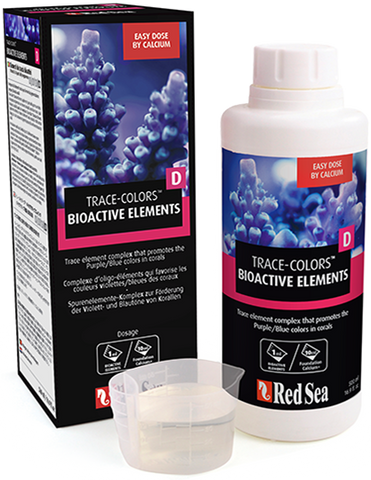Red Sea Bioactive Elements Supplement Trace Colors D