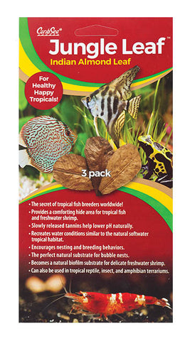 Caribsea Jungle Leaf 3pk - Bay Bridge Aquarium and Pet